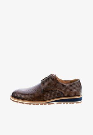 NATURNO - Elegantní šněrovací boty - braun
