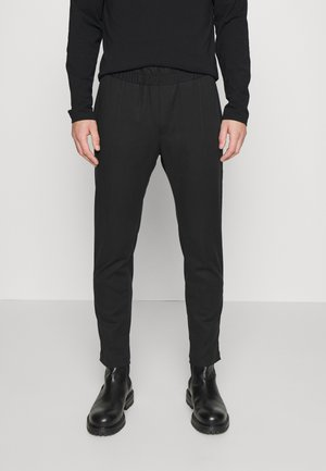 SLIM PANTS - Trousers - black