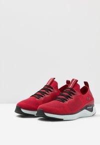 Skechers Sport - SOLAR FUSE - Zapatillas - red/black - 2