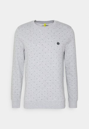 CREWNECK WITH CUTLINES - Sweater - grey