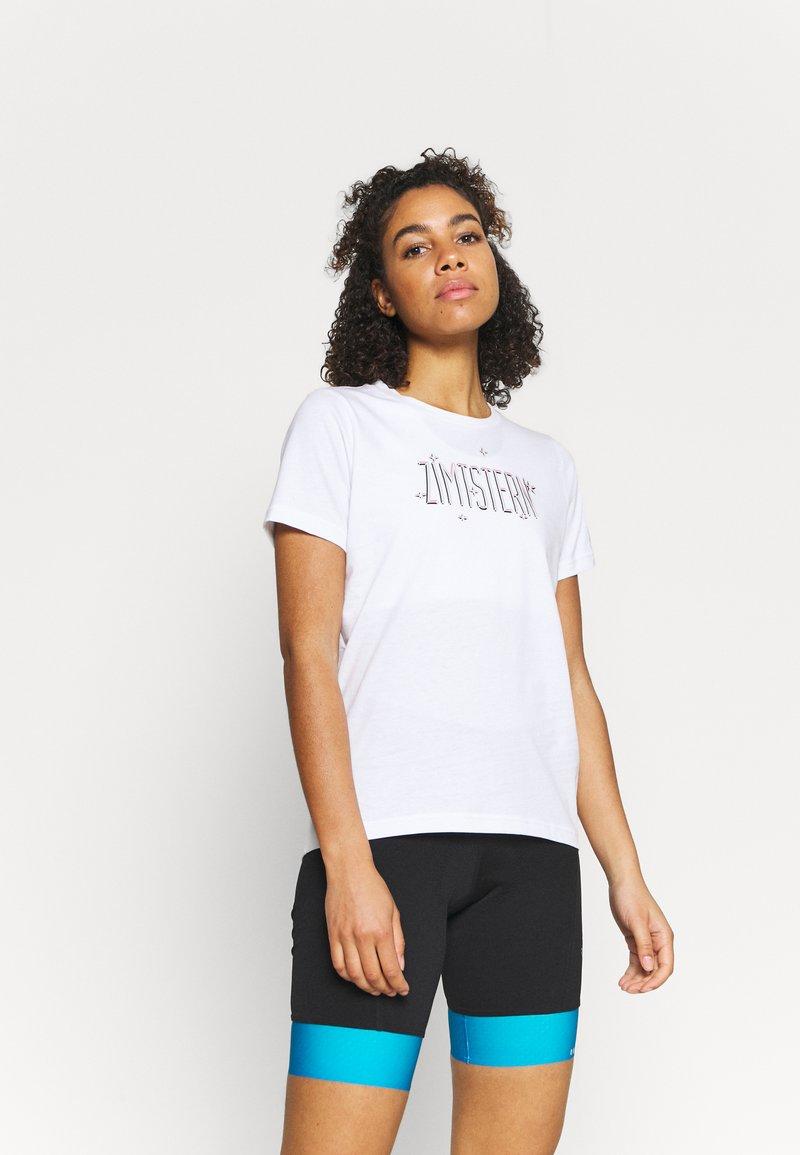 Zimtstern - STARDUZT TEE - Print T-shirt - white