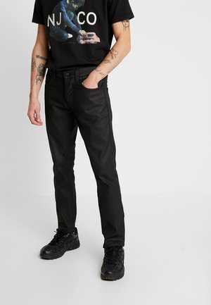 GRIM TIM - Slim fit -farkut - dry black mind