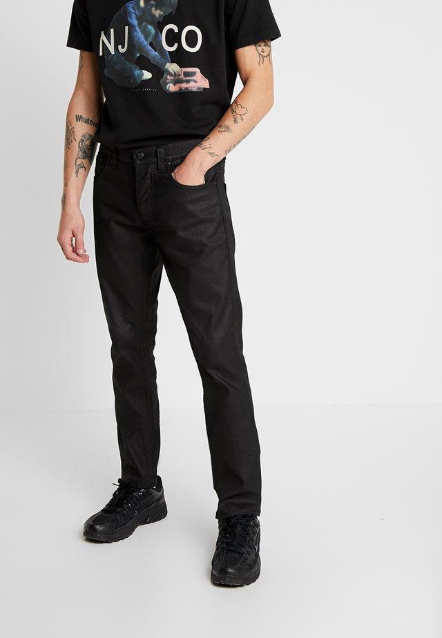 GRIM TIM - Jeans slim fit - dry black mind