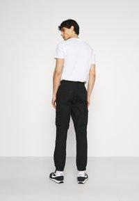 GAP - JOGGER - Cargo trousers - true black - 2