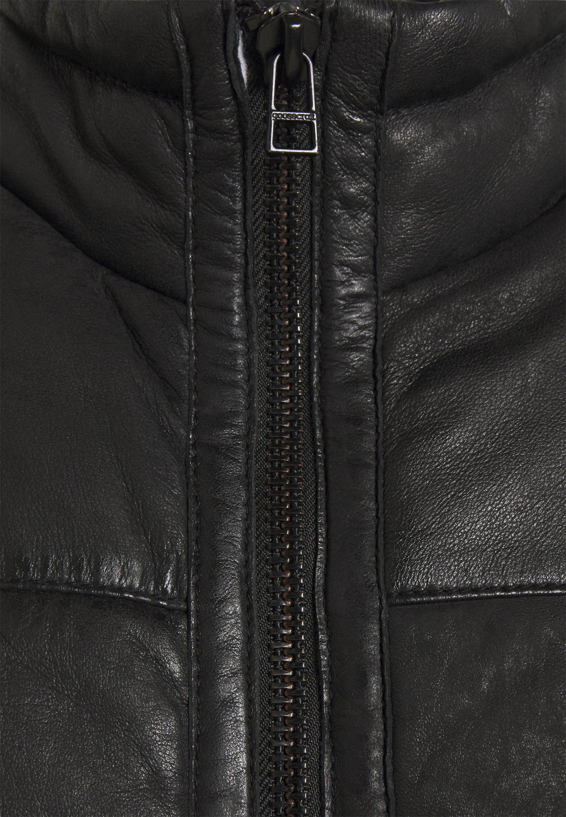 Men FORSYTHE PUFFER - Leather jacket