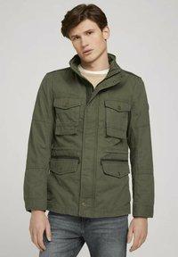 TOM TAILOR - Light jacket - olive night green - 0