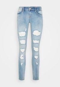 ONLY - ONLCORAL DESTROY  - Jeans Skinny Fit - light-blue denim - 4