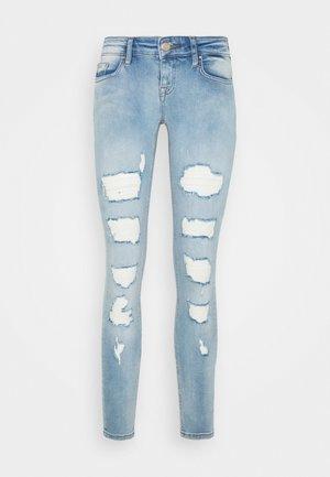 ONLCORAL DESTROY  - Jeans Skinny Fit - light-blue denim