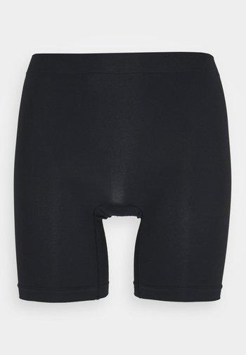 SEAMLESS BIKER HIGH - Pants - black