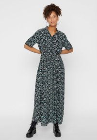 Pieces - Maxi dress - black - 0