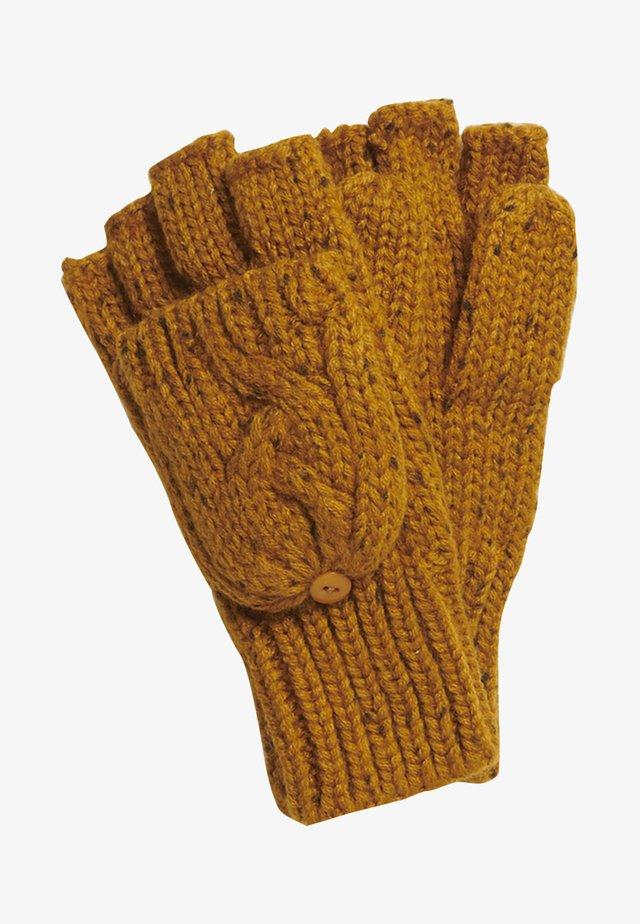 GRACIE  - Fingerless gloves - ochre