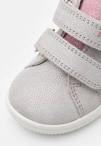 Superfit - STARLIGHT - Baby shoes - hellgrau/rosa - 5