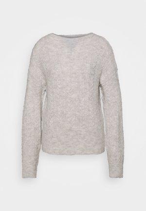 FIANNA STRUCTURED  - Jumper - light grey melange