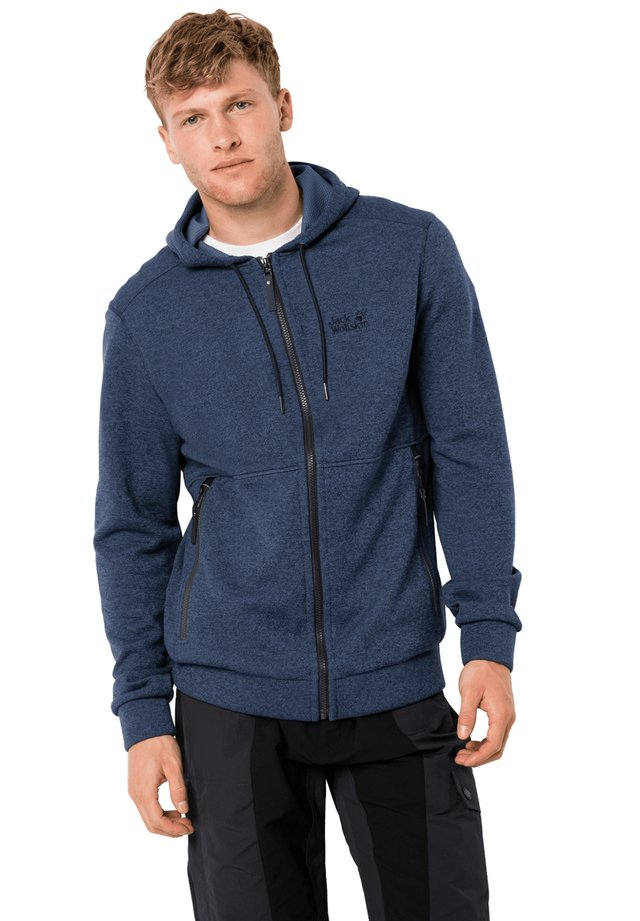 Zip-up hoodie - night blue