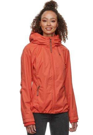 DIZZIE - Waterproof jacket - chili red