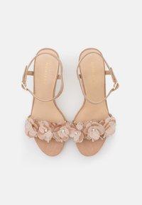 Anna Field - LEATHER - Sandály na vysokém podpatku - beige - 5