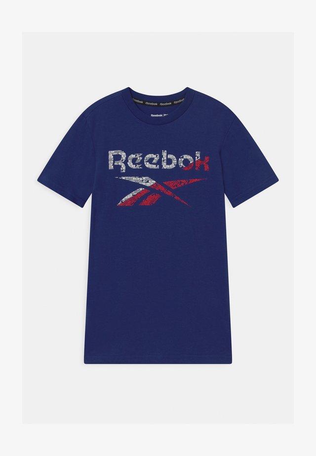 STRIATED CLASSIC  - T-shirt print - navy
