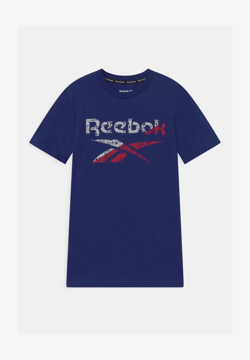 Reebok - STRIATED CLASSIC  - Camiseta estampada - navy