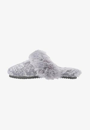SLIP - Domácí obuv - grey
