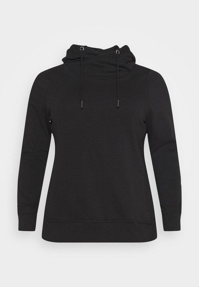 CARSKAY LIFE - Jersey con capucha - black