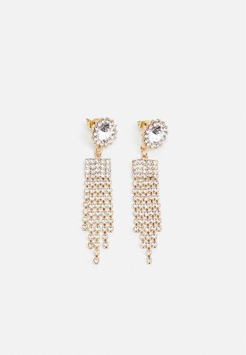 PCKEBIE EARRINGS - Earrings - gold-coloured