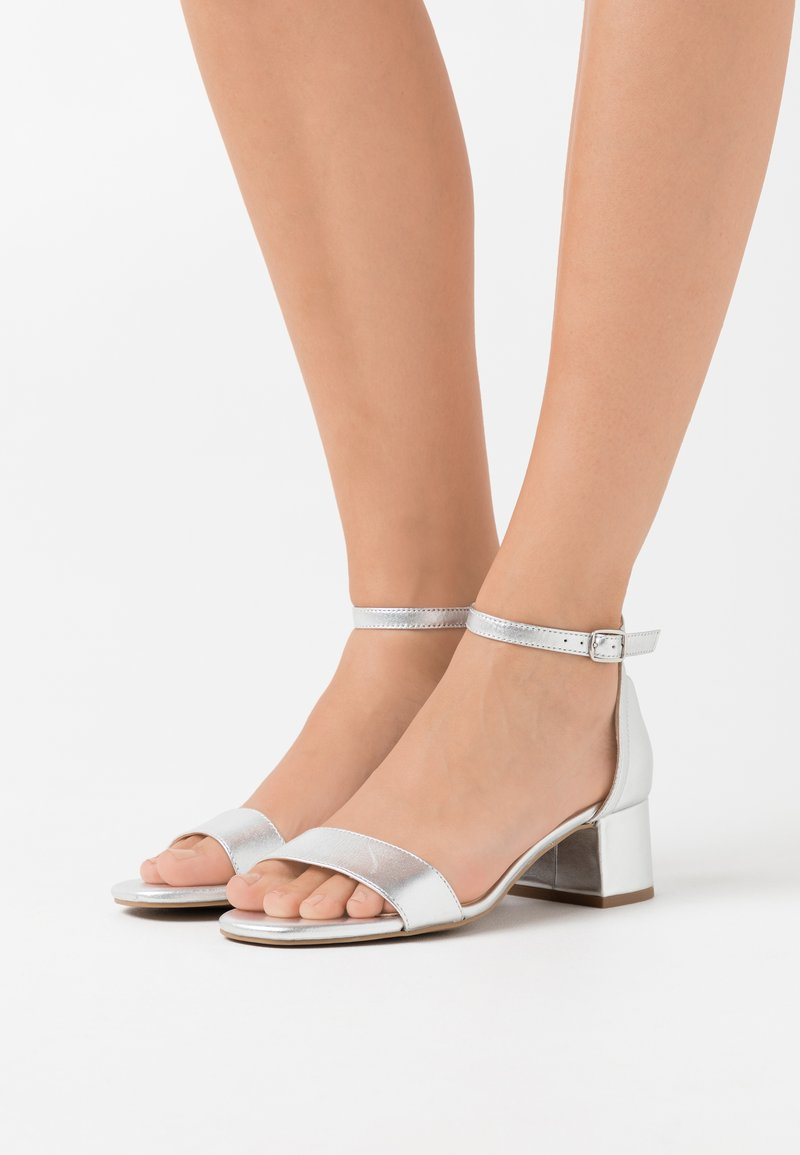 Anna Field - LEATHER  - Sandalias - silver