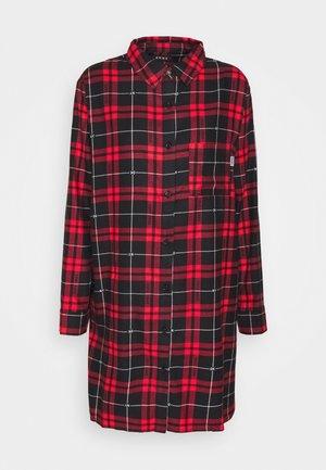 SLEEPSHIRT - Nattskjorte - ruby