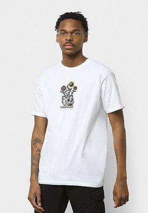 MN SPROUTING SS - Camiseta estampada - white
