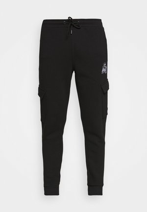 ARBOR CARGO - Cargo trousers - black