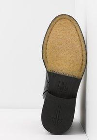 Billi Bi - Lace-up ankle boots - black/gold - 6