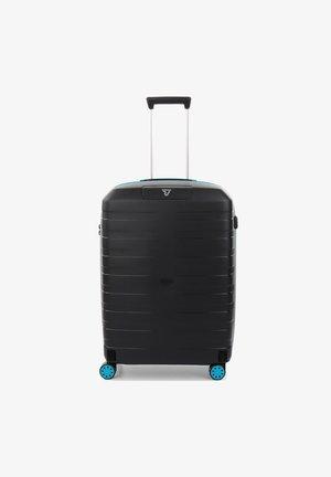 BOX YOUNG - Wheeled suitcase - azzurrro/nero