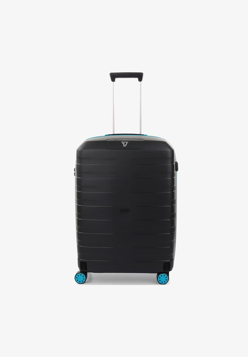 Roncato - BOX YOUNG - Wheeled suitcase - azzurrro/nero