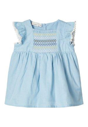 KLEID BAUMWOLL - Day dress - dream blue