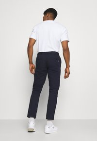 Tommy Jeans - SCANTON DOBBY TRACK PANT - Trousers - twilight navy - 2