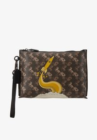 Coach - HORSE AND CARRIAGE ROCKET CHARLIE POUCH - Trousse - brown/black - 1