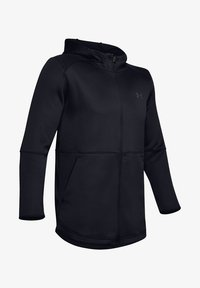 Under Armour - MK1 WARMUP FZ HOODIE - Training jacket - black - 3