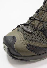 Salomon - XA PRO 3D V8 - Hiking shoes - grape leaf/peat/shadow - 5