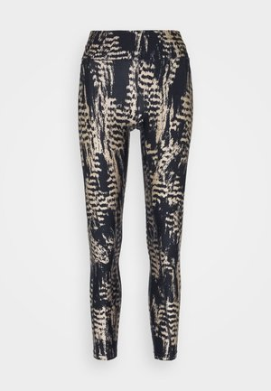 ICONIC PRINTED - Leggings - survive grey metallic