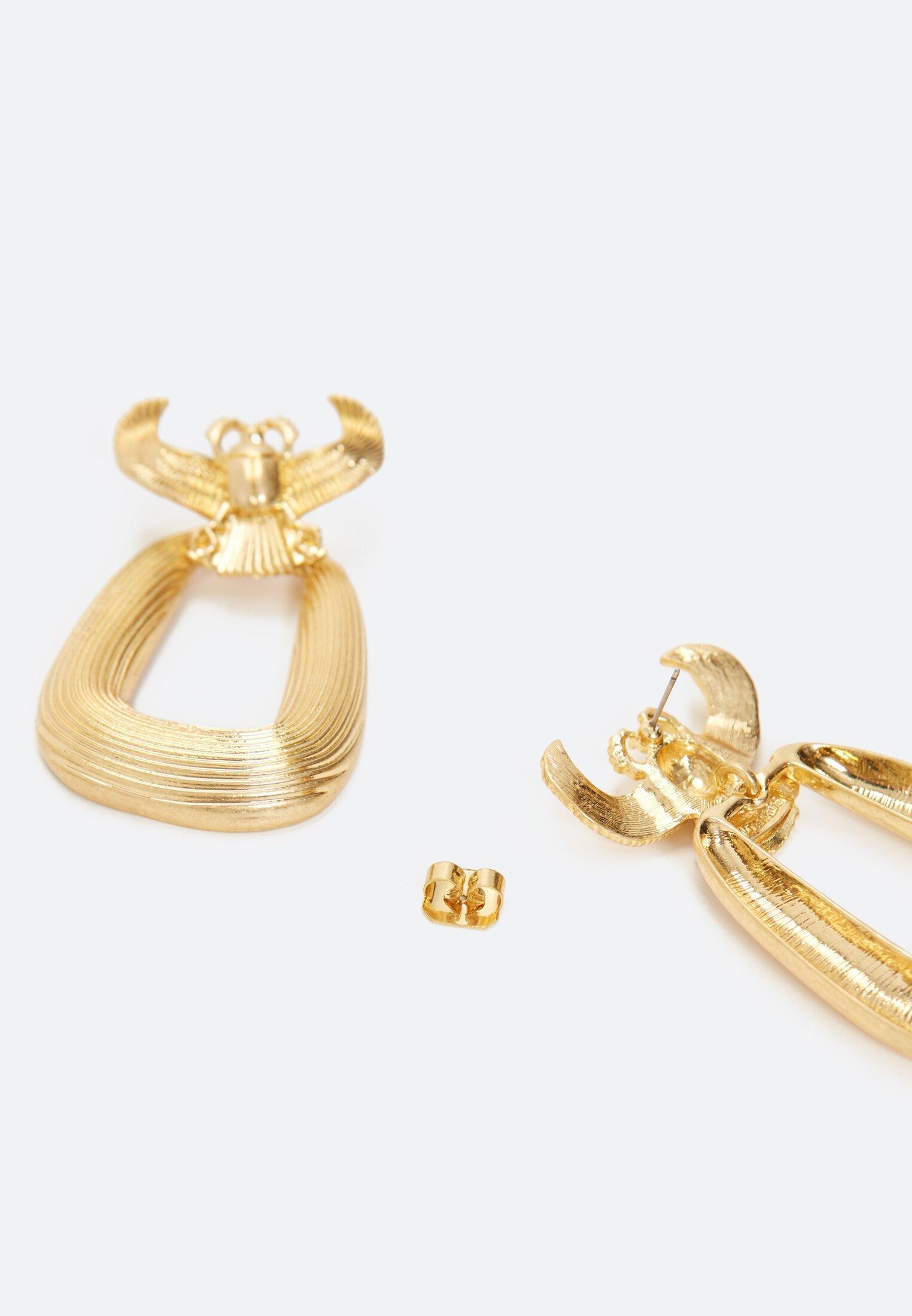 Uterqüe Ohrringe - Gold