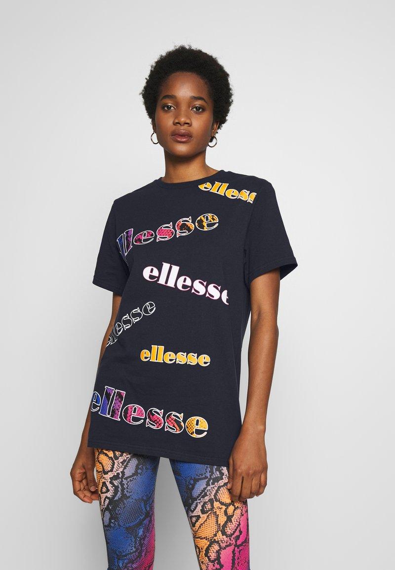 Ellesse - MIRI - Print T-shirt - navy