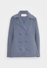 Tory Burch - Classic coat - dark cloud - 0