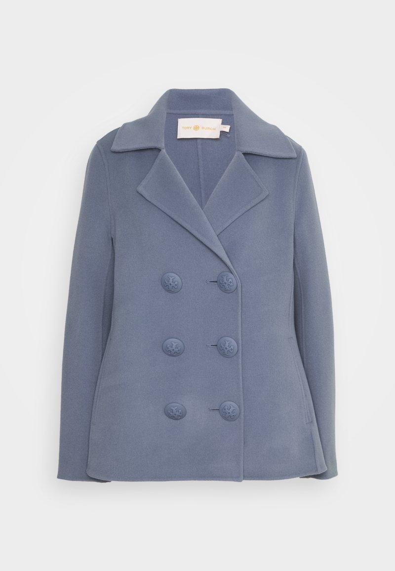 Tory Burch - Classic coat - dark cloud