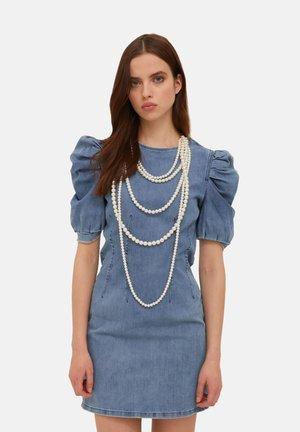 Denim dress - blu