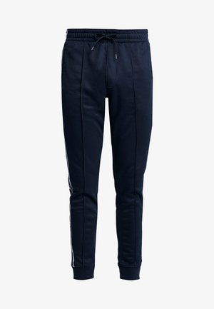 LOGO TAPE TRICOT - Pantalones deportivos - navy