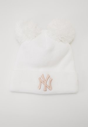 KIDS LEAGUE ESSENTIAL DOUBLE BOBBLE CUFF - Muts - white/light pink