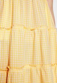 Hollister Co. - BARE FEMME SHORT DRESS - Kjole - yellow - 4
