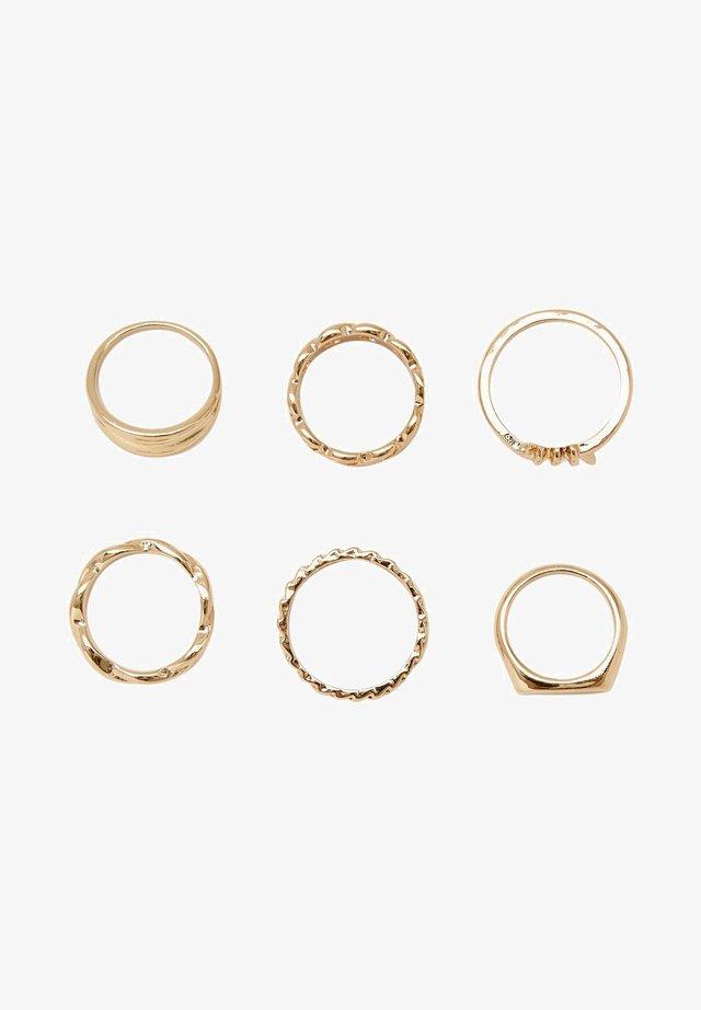 Ringe - gold
