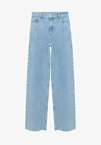 Mango - Jeans Relaxed Fit - mittelblau - 5