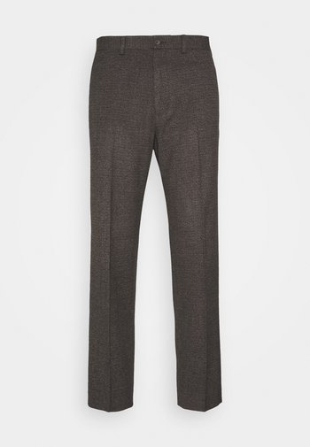 CHECKFLAT FRONT TROUSER
