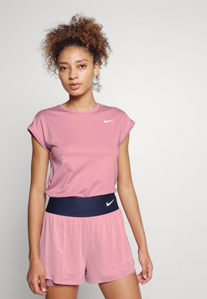 Camiseta básica - elemental pink/white